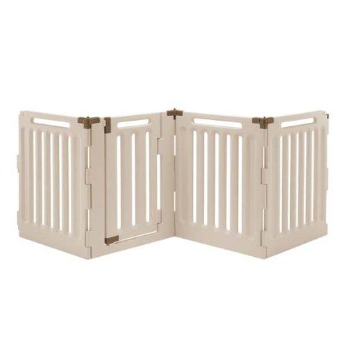 Convertible Indoor/Outdoor Pet Playpen Panels: 4 ()