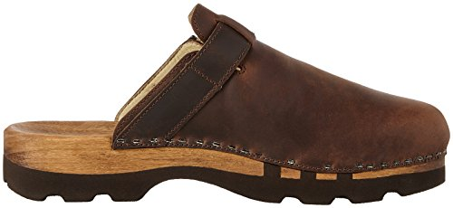 Woody LUKAS Clogs And Mules Men's Braun (Crazy Horse Testa Di Moro) r6hxlKeEP0