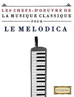 Les Chefs d'oeuvre de la Musique Classique pour le Melodica: Pièces faciles de Bach, Beethoven