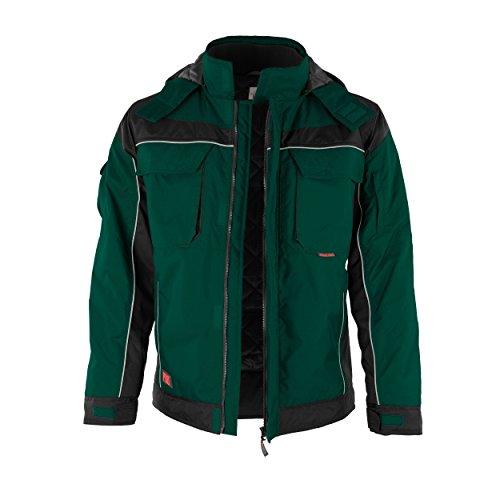 noir Qualitex De Avec verschieden Travail Vert Fermeture Couleurs Montant Col Veste Pro winterjacke Scratch UtrxUOT