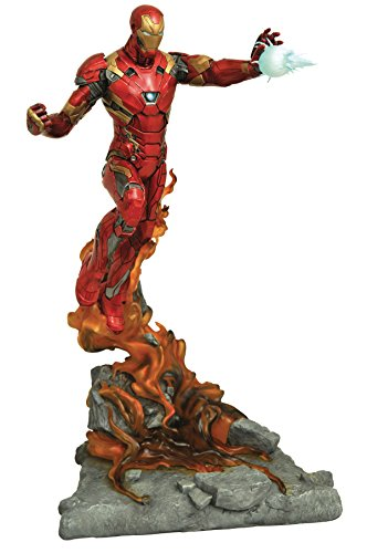 (DIAMOND SELECT TOYS Marvel Milestones Captain America Civil War Movie Iron Man Resin)