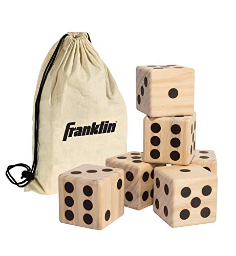 Dice Life Game Of (Franklin Sports Giant Wooden Dice)