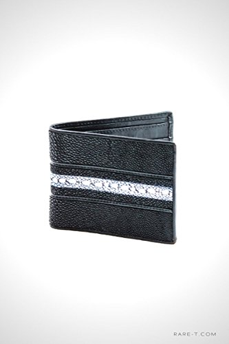 Authentic 'STINGRAY SKIN' Bifold Wallet by RARE-T