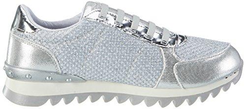 Fepk067 Donna silver Argento Sneaker Fiorucci Silver zqBwdnE