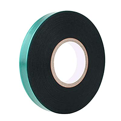 """Easytle Stretch Tie Tape Roll, 1/2"""" 150ft Garden Tie Tape, Thick Sturdy Plant Ribbon Garden Green Vinyl Stake Gardening Tools for Indoor Outdoor Patio Plant Use"""