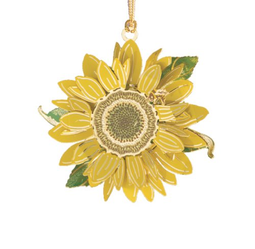 ChemArt Sunflower Ornament
