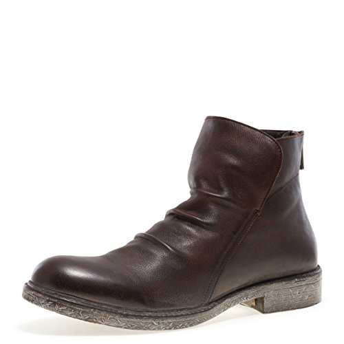 Jump Newyork Men's Pueblo Slouch Shaft Pull-on Boot Brown 11 D US ()