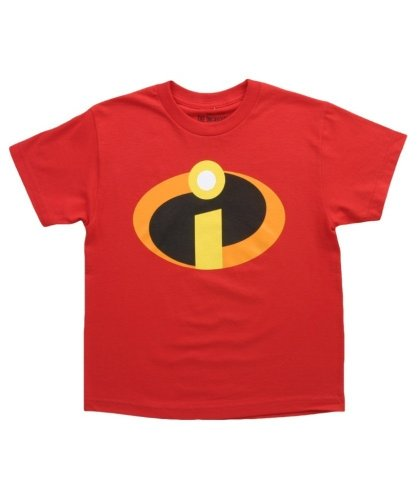 [Disney Boys' Big Boys' the Incredibles T-Shirt, Red, SMALL] (Dash Incredibles Costumes)