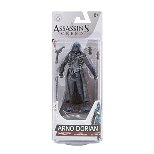 Arno Dorian Eagle Vision Outfit 6 inch action figure Assassin's Creed Series 4 Figure Mcfarlane Toys