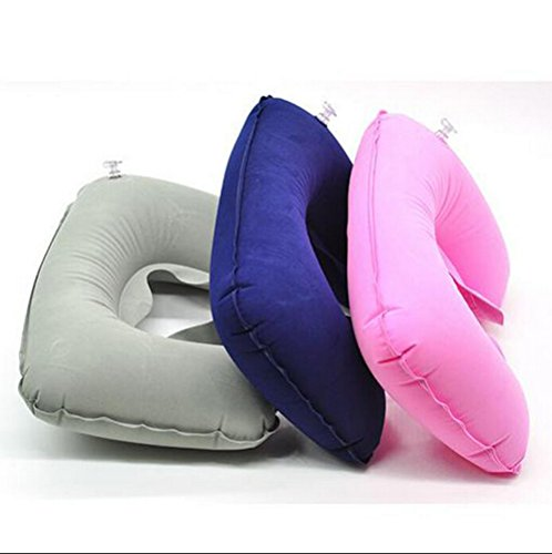 Travel Pillow Inflatable Neck U-Shape Cushion Pillow