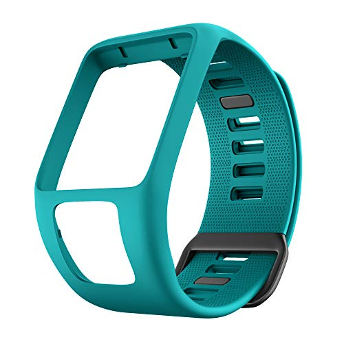 (ANCOOL Bands for Tomtom Runner 2 3,Spark 3,Golfer 2,Adventurer Silicone Replacement Watch Bands for Smartwatches (Rock Blue))