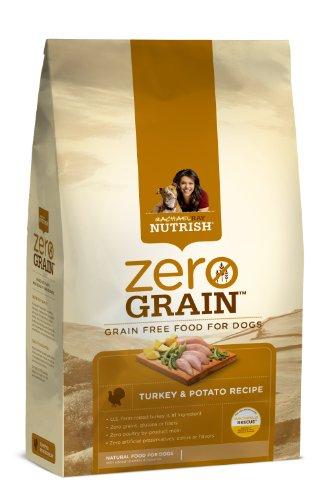 Rachael Ray Nutrish Zero Grain Dry Dog Food, Grain-Free Turkey/Potato Recipe, 14-Pound, My Pet Supplies