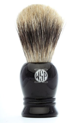 100% Pure Badger Shaving Brush High Density WSP