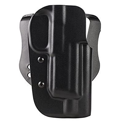 Blade-Tech OWB Holster, FNH FNX 45 TACTICAL,Black,Right Hand,Paddle