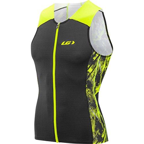 Louis Garneau Pro Carbon Jersey - Men's Black/Yellow, - Men Triathlon Top