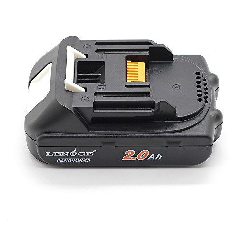 LENOGE Hoche Qualität Ersatz Batterie 18V 2.0Ah[Kapazität:2000mah/Samsung Zell] für Makita Elektrowerkzeuge BL1815,BL1820,BL1830,BL1835,LXT400,194204-5,194205-3,194309-1.