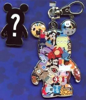 Medal Disney Pin - Disney Pin 82449: Lanyard Medal and Pin Set - Vinylmation