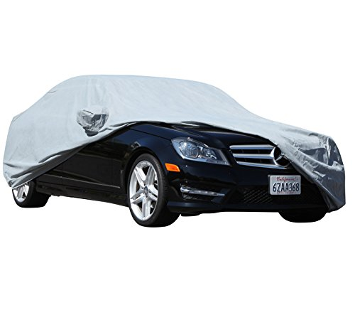 XtremeCoverPro 100% Breathable Car Cover for Select BMW 740i 740Li 745i 745Li 750Li 760Li 2002 2003 2004 2005 2006 2007 2008 2009 2010 2011 2012 2013 2014 2015 (Space Gray)