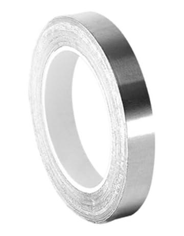 TapeCase 0.5-3-3361 - Cinta adhesiva de acero inoxidable y acrílico de alta