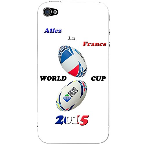Coque Apple Iphone 5-5s-SE - France Rugby 2015
