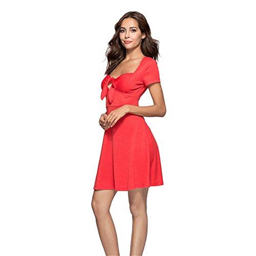Gaeshow Dress Anni '50 Rosso Vintage Swing Rockabilly r5fxrq