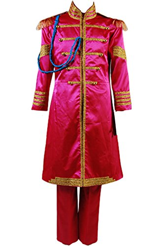 Cosplaysky The Beatles SGT. Pepper's Lonely Hearts Club Ringo Starr Costume Large -