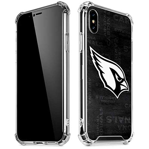 a0b959bd42b Amazon.com  Skinit Arizona Cardinals Black   White iPhone X XS Clear ...