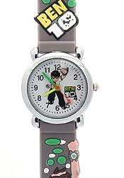Timernall Original Ben10 Water Resistant Grey Cute Watches