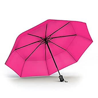 Procella Umbrella Travel Umbrella, Windproof Unbreakable Double Vented Canopy