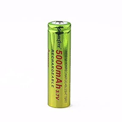 Rechargeable Battery, XUANOU 3.7V 18650 5000mAh Li-ion Rechargeable Battery For Flashlight lamp Torch