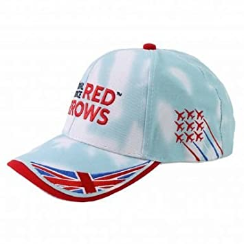 England Rugby Official Royal Air Force (RAF)   Red Arrows Baseball Cap   Amazon.co.uk  Sports   Outdoors 59c5bf1acf3