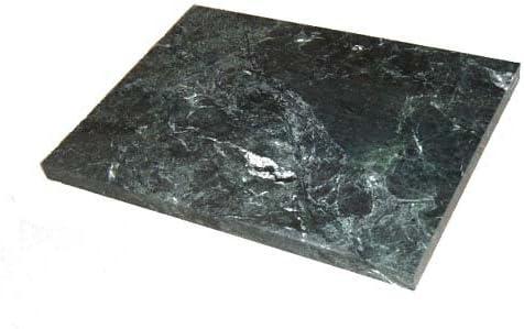アクアリウムボード アクアボード 高級天然大理石 (緑系) 厚み約30mm 300×300mm 【受注オーダー製作】