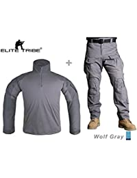 Men Airsoft Tactical bdu Uniform Combat Gen3 Shirt Pants Suit WG