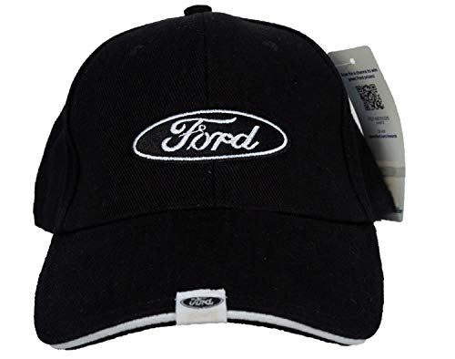 Ford TAG Fine Embroidered Hat Cap, Black