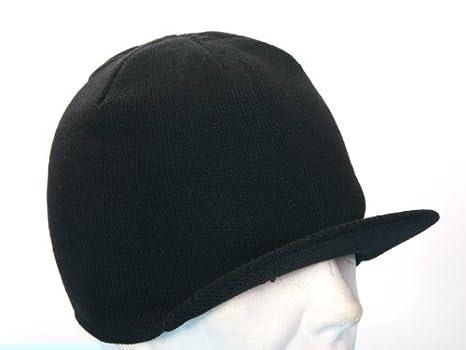 Fratelliditalia Cappello lana con visiera colori nero blu grigio tg unica  soft air 34246aa9703d