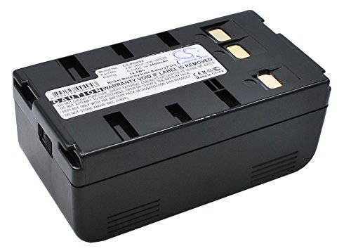 VINTRONS Battery for Panasonic NV-S750, 6V, 2400mAh, Ni-CD