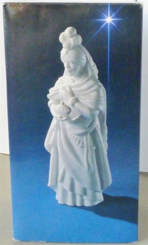Avon Nativity Collectibles The Magi Kaspar Porcelain Figurine