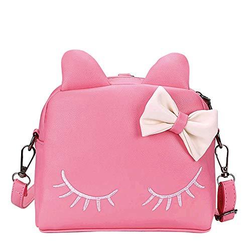Sunmall Little Girl Crossbody Shoulder Handbag Kid Purse Mini Backpack Bags -