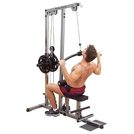 Body Solid estación tirada Dorsal con Doble: Amazon.es: Deportes y ...