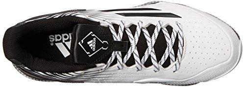 Bacchetta Softball Ad Alte Prestazioni Adidas Womens Poweralley 3 / Bianco / Nero / Carbonio Metallizzato