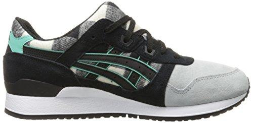 ASICS Men's Gel-Lyte Iii Fashion Sneaker, White/Black, 11 M US