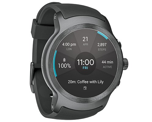LG Watch Sport Unlocked GSM (SilverTitan)