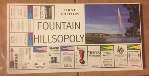 Fountain Hillsopoly First Edition Custom Board Game