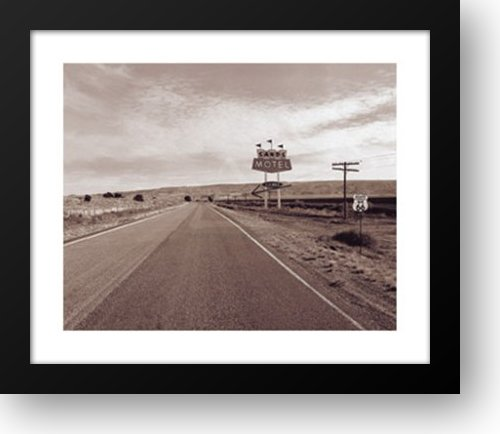 Route 66 Sands Motel 28x24 Framed Art Print by Roth, Jack