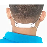 5 PCs Ear Saver | Ear Mask Strap Band Extender | Ear Mask Adjuster Protector Hook Loop | Ear guard mask clip | Anti-Slip…