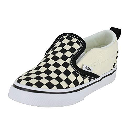 Vans Toddler T Slip ON Checkerboard Black White Size 6 -