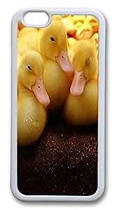 iphone 6 plus 5.5inch Case Lots of Ducks Animal TPU Custom iphone 6 plus 5.5inch Case Cover Whtie
