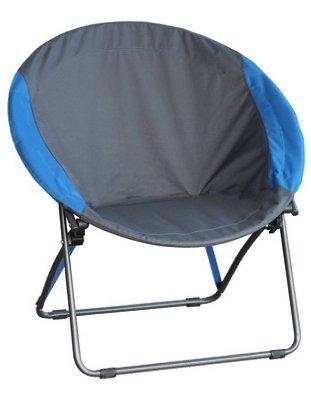 (GRY/BLU RND Dish Chair)