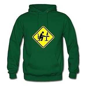 Women Geek_computer_shield_1__f2 Green Customizable Vogue Long-sleeve Hoodies Shirts X-large