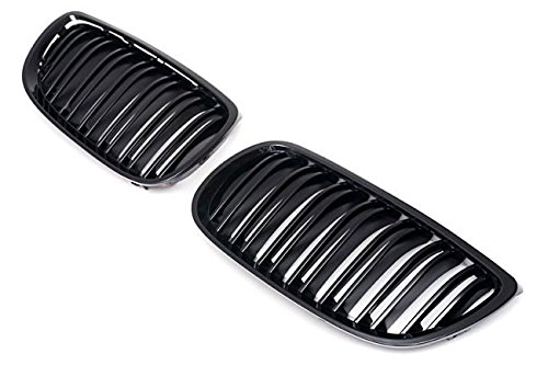 Gloss Black Kidney Sport Grill For BMW 3 Series E92 E93 Pre Facelift +ALL M3 M 07-10